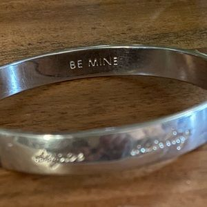 Kate spade sweetheart bangle bracelet